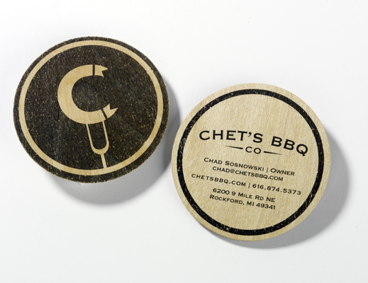 Chet Bbq Business Card