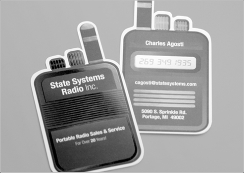 State System Business Card