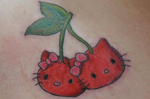 Cherries Hello Kitty