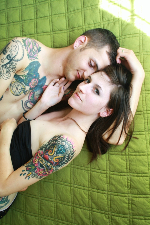perfect color match tattoos 25 Groovy Matching Tattoos