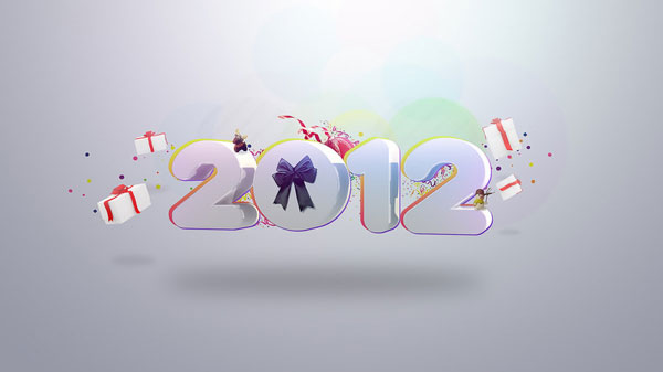 2012 30 Fantastic New Year Wallpaper Collection