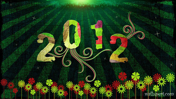 2012wallpaper 30 Fantastic New Year Wallpaper Collection