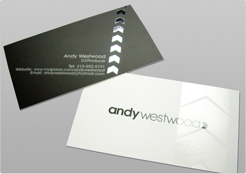 Andy Wood Business Card