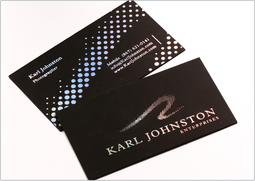Karl Johnston Card