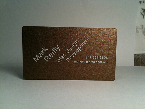 Mark Reilly Business Card