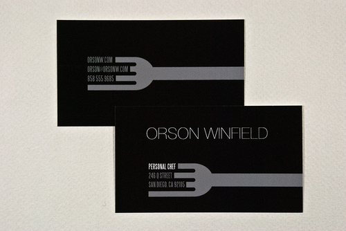 Orson Chef Card