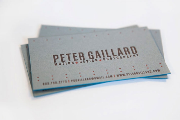 Peter Business Card