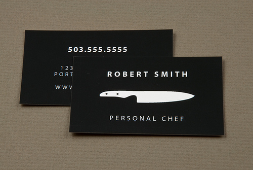 Robert Smith Personal Buusiness Card