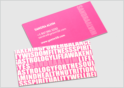 Sandra Business Card