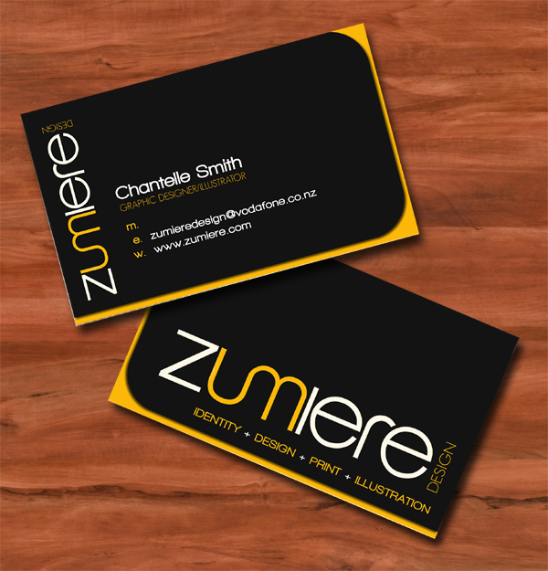 Zumi Business Card
