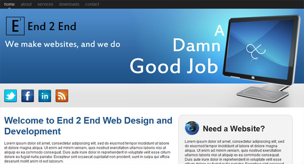Design a Web 2.0 Layout Pt