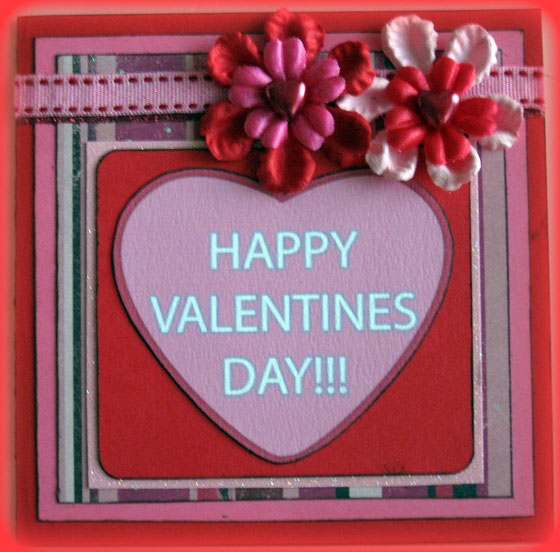 60 Love Filled Valentine Day Cards and Backgrounds SloDive – Handmade Valentines Day Cards