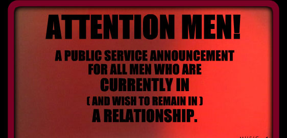 Men's Final Valentine Warning