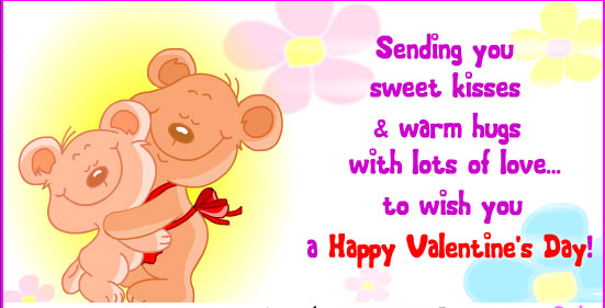 Warm Hugs & Love On Valentine's Day