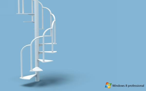 Spiral Staircase Windows 8 Wallpaper