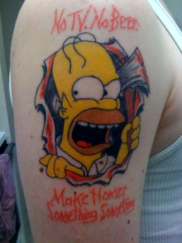 Homer Bad Ass