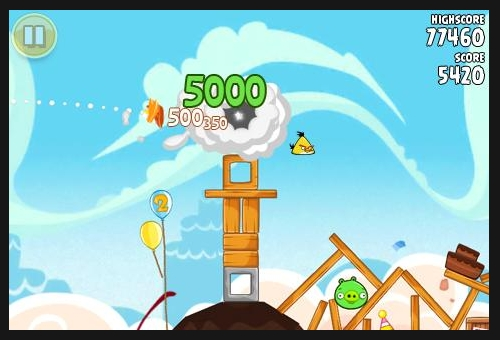 angry birds 50 Best Android Games
