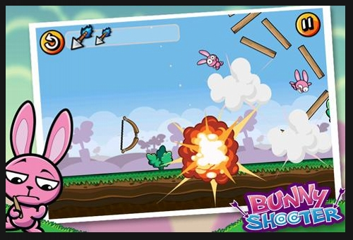 bunny shooter 50 Best Android Games