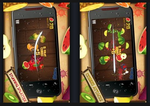 fruit ninja 50 Best Android Games