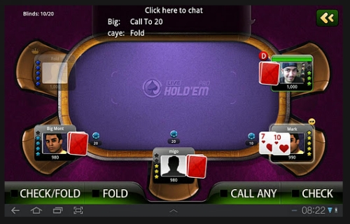 live holdem poker pro 50 Best Android Games