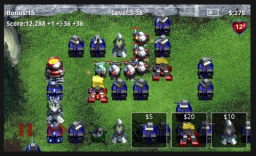 robo defense 50 Best Android Games