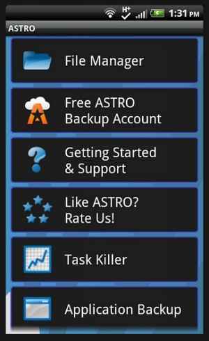 astro 40 Best Free Android Apps