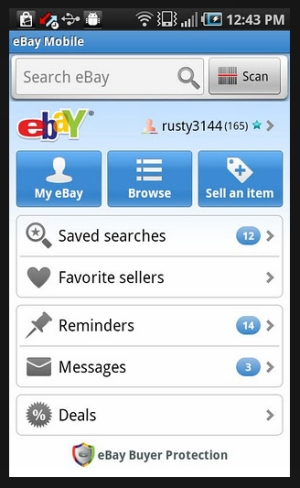 eBay Android Application