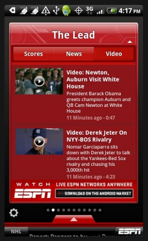 espn scorecenter 40 Best Free Android Apps