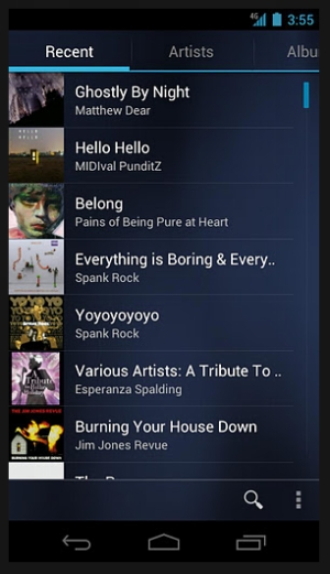 google music 40 Best Free Android Apps