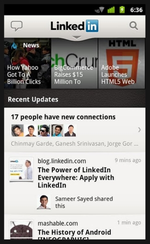 linkedin 40 Best Free Android Apps