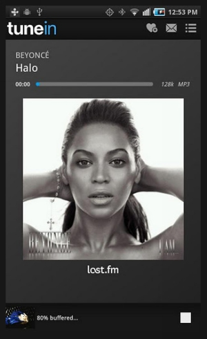 tunein radio 40 Best Free Android Apps
