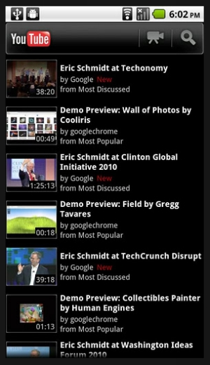 youtube 40 Best Free Android Apps
