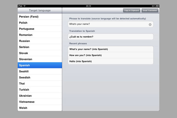 free translator 30 Best iPad Apps You Should Install Today