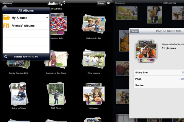 shutterfly 30 Best iPad Apps You Should Install Today