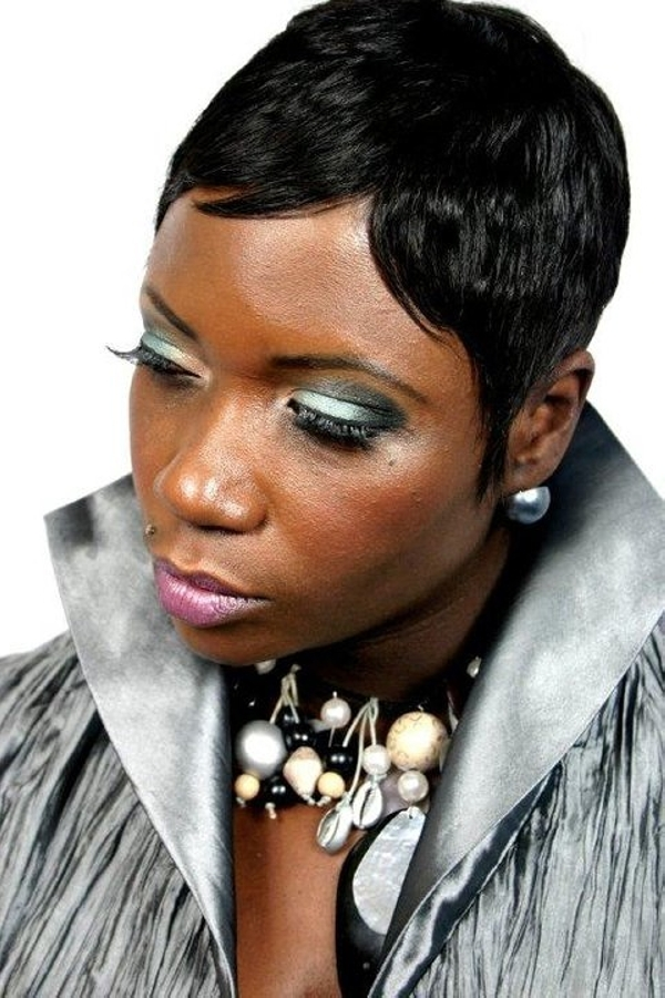 Stupendous 30 Short Hairstyles For Black Women Hairstyle Inspiration Daily Dogsangcom