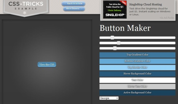 css tricks 11 Awesome Button Maker Tools