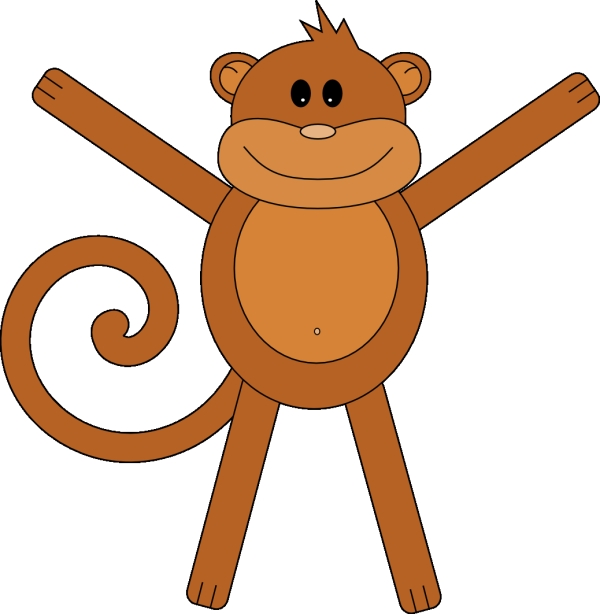 simple monkey 25 Cartoon Monkey Pictures You Will Enjoy