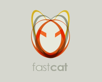 fastcat 35 Great Logos Inspired By Cats