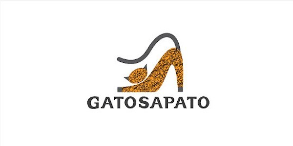 gatosapato ideoma 35 Great Logos Inspired By Cats