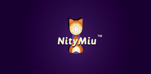 nity miu 35 Great Logos Inspired By Cats