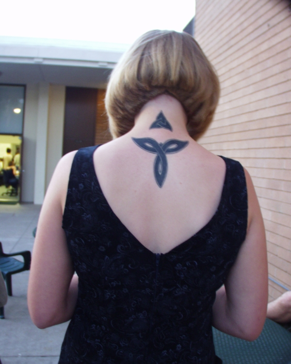 celtic on upper back tattoo 25 Awesome Celtic Knot Tattoos