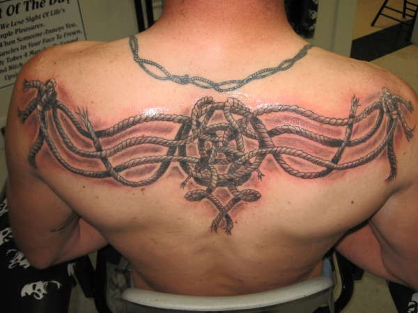 celtic ropes tattoo 25 Awesome Celtic Knot Tattoos