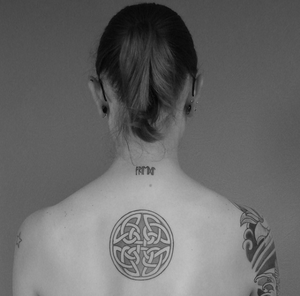 celtic shield knot 25 Awesome Celtic Knot Tattoos