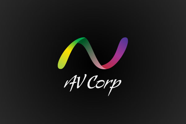 av corp 25 Inspirational Multi Colored Logos