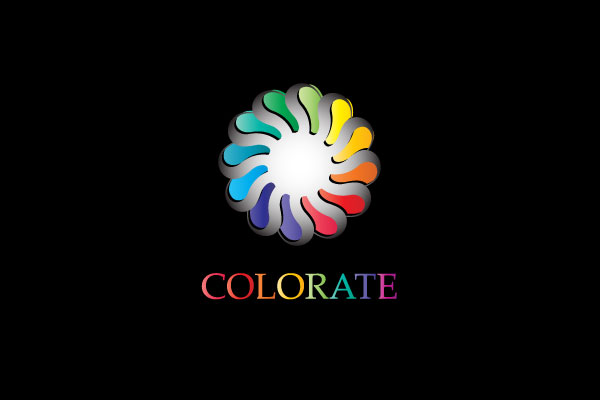 colorful logo 25 Inspirational Multi Colored Logos