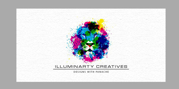 illuminarity 25 Inspirational Multi Colored Logos