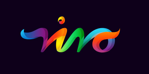 vivo 25 Inspirational Multi Colored Logos