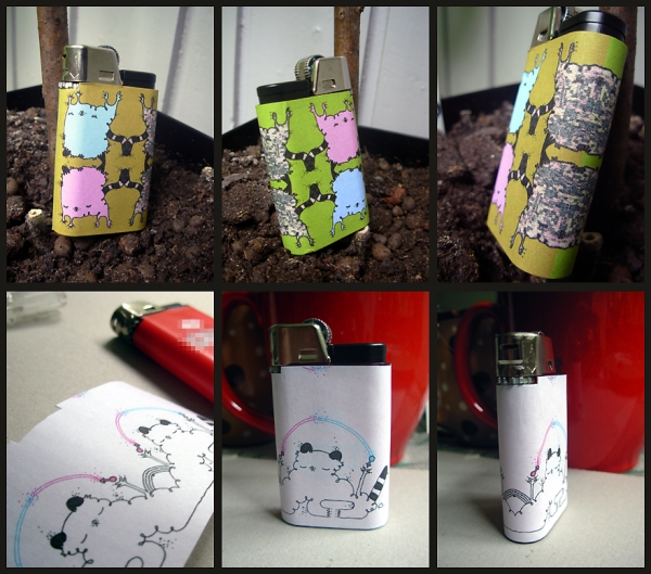 Different Faces Lighters