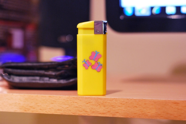 Fluttershy Lighter Enamel