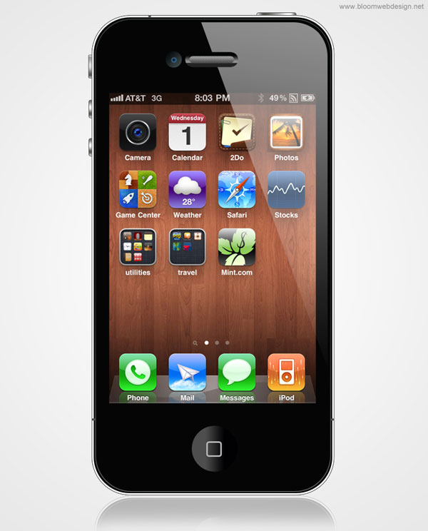 Create an Apple iPhone 4S